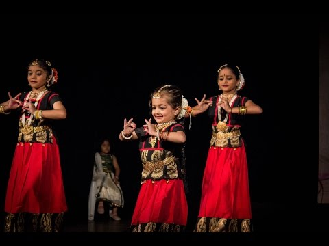 Pushpanjali by Infants of SHAILUSHAM ARTS & CREATIONS! (Bharatanatyam)
