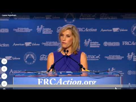 Laura Ingraham about Trump and the Social Conservatives