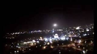Fourth video of Jerusalem UFO/Angel