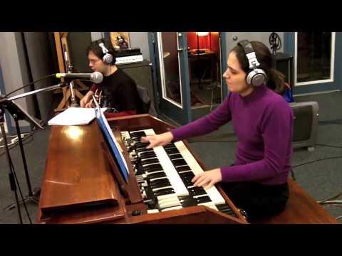 """Barry Elmes Quartet rehearsing """"Happy Hour"""""""
