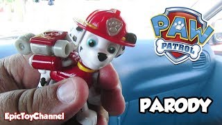 PAW PATROL [Parody Toy Video] ICE CREAM TREAT ADVENTURE w/ Marshall + Chase by EpicToyChannel
