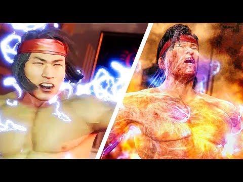 Mortal Kombat 11 Raiden Kills Liu Kang Vs Mortal Kombat 9 Raiden Kills Liu Kang Scene Comparison
