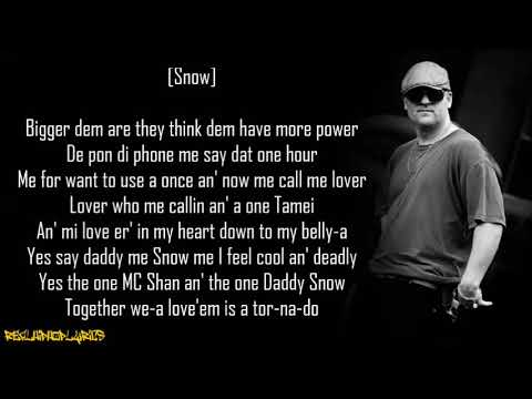 Snow - Informer ft. MC Shan (Lyrics)