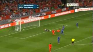 The Netherlands - San Marino 11 / 0 (Euro 2012 Qualifier: Sep / 2 / 2011)