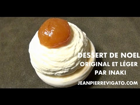dessert de no l original l ger et facile la boule de no l revisit e par inaki youtube. Black Bedroom Furniture Sets. Home Design Ideas