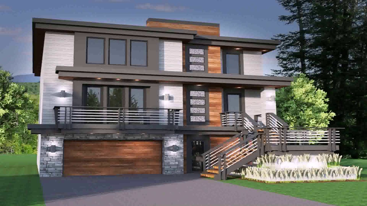 Modern house plans with photos pdf youtube for Modern house plans pdf