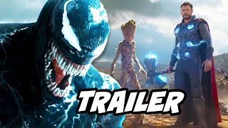 Venom Trailer 3 - New Thor Marvel Easter Eggs