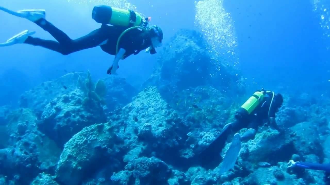 水肺潜水_Scuba Diving in Mauritius - Directors Cut - YouTube