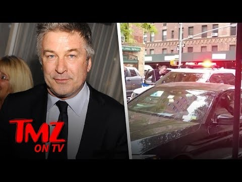 Alec Baldwin Punches A Man in Fight Over Parking Spot?! | TMZ TV