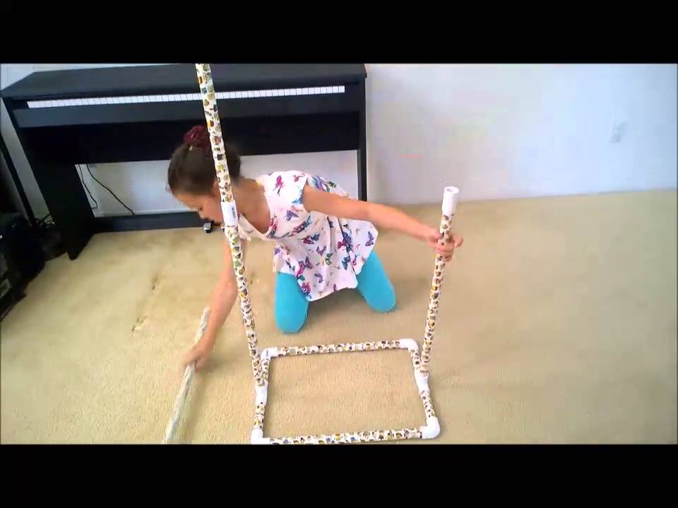 Dance Bag With Garment Rack Magnificent DIY PVC 60 Garment Rack For Dancers YouTube