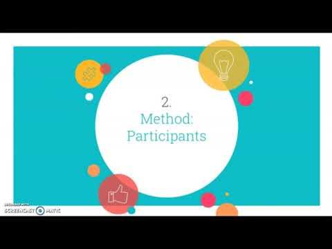 Methods Research Proposal Presentation