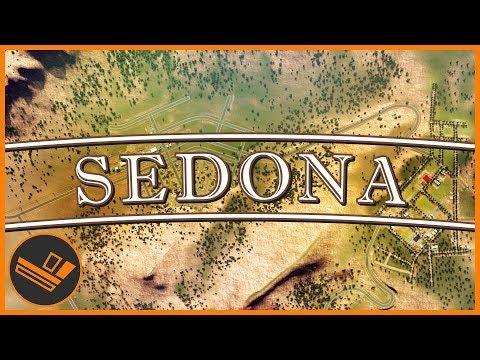 Sedona - Part 8 | MOUNTAIN FOOTHILLS (Cities: Skylines)