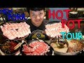All You Can Eat HOTPOT Buffet Tour of New York PART 1