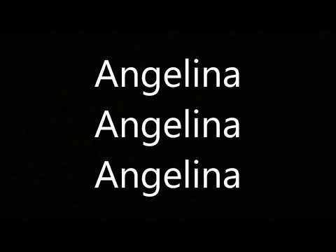 Antwan Råby - Angelina [Lyrics]