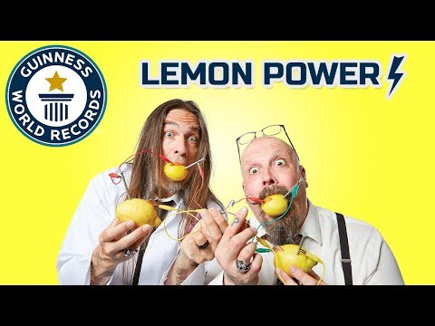 Lemon Battery Power! DIY Challenge – Science & Stuff
