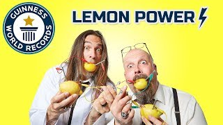 Lemon Battery Power! DIY Challenge - Science & Stuff