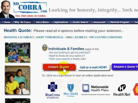 Compare Health Insurance California