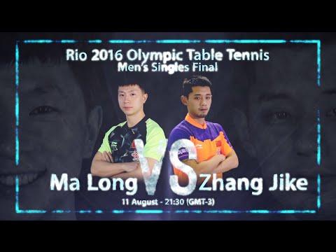 Rio 2016 Men's Singles Final I Zhang Jike v Ma Long