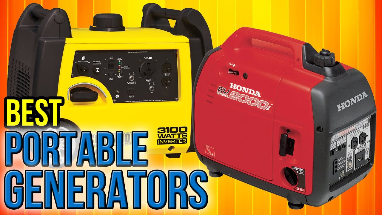 10 Best Portable Generators 2017