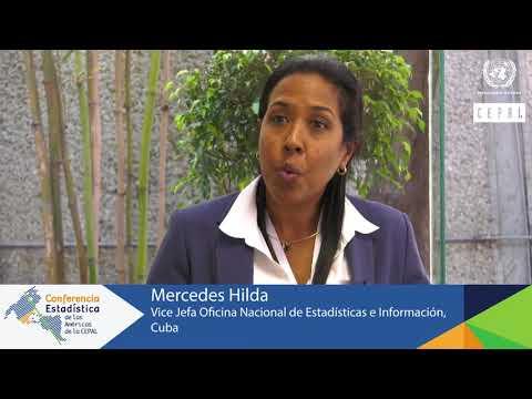 Mercedes Hilda, Oficina de Estadística e Información de Cuba