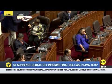 Lescano discutió con Bartra luego de llamarla subordinada política de Keiko Fujimori 1/2