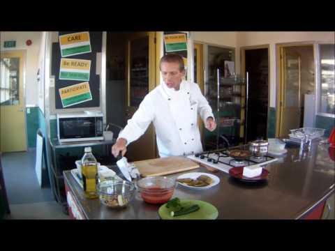 Stuffed Moroccan Aubergine Ratatouille