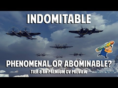 World of Warships Indomitable Preview - Tier 8 Royal Navy CV