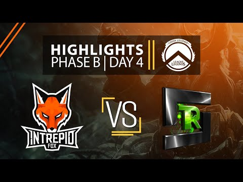 IF Vs RFS | Phase B / Day 4 - GLL HIGHLIGHTS