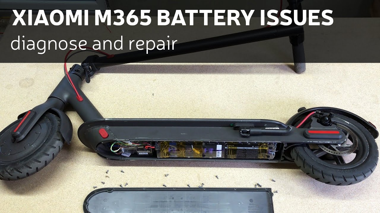 Xiaomi M365 Battery Issues - Diagnose And Repair