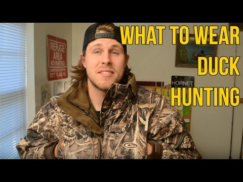 What I Wear When I Duck Hunt | Waterfowl Wednesday