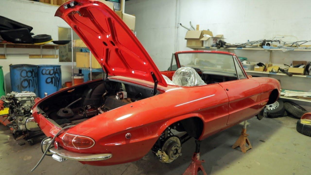 Реставрация ретро авто в США