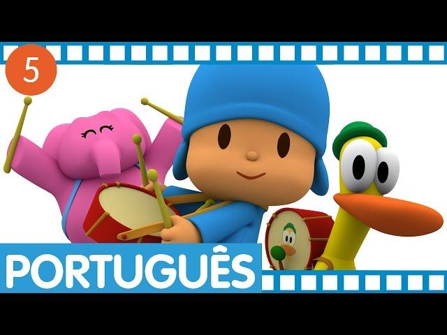 Pocoyo - Episódios completos em Português (Temporada 1 - Ep.17-20) Vídeos De Viagens