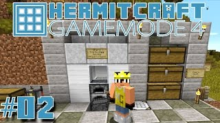 Minecraft Mods - GM4 Ep. 2 - Blast Furnace Ore Doubling !!! ( HermitCraft Game Mode 4 )