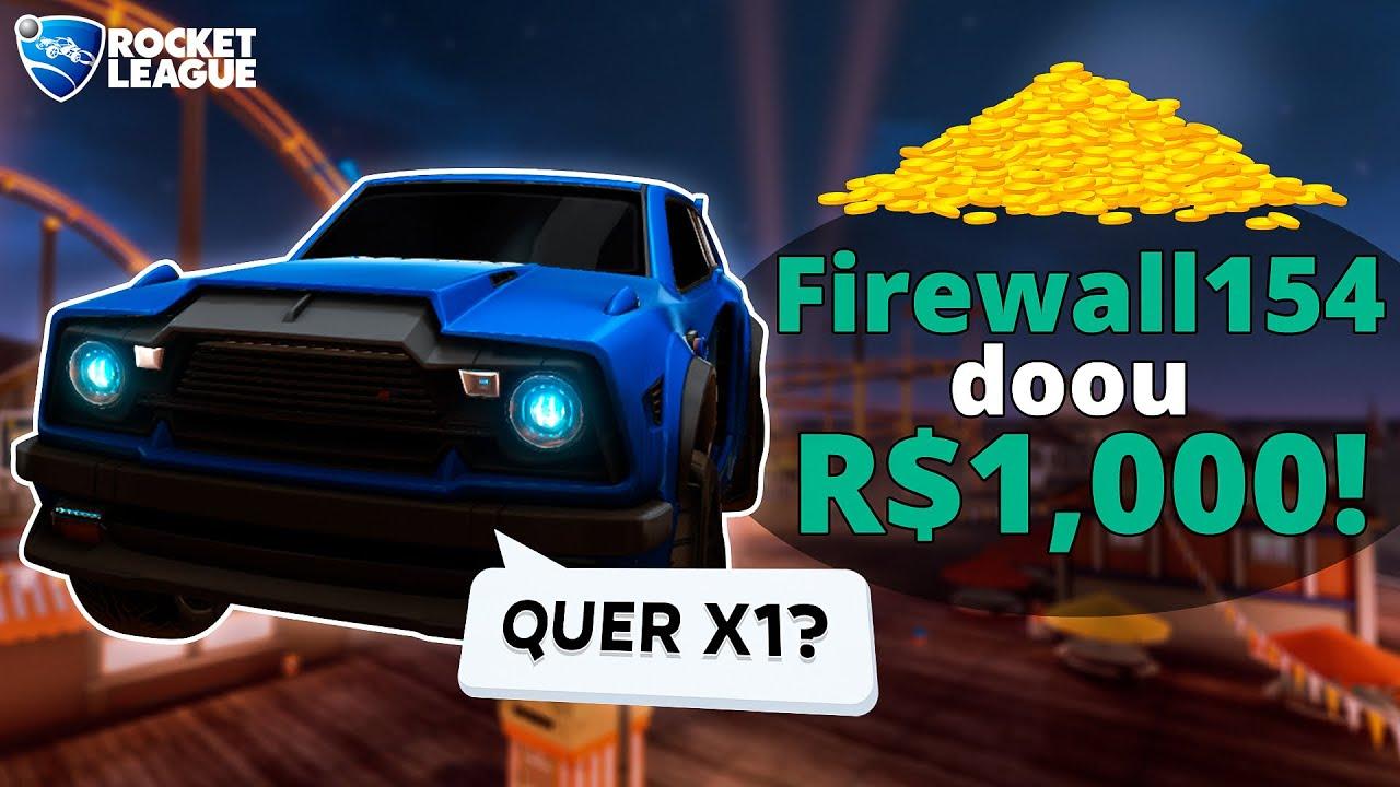 DOANDO R$1000 PARA STREAMERS DE ROCKET LEAGUE... (parte 2)