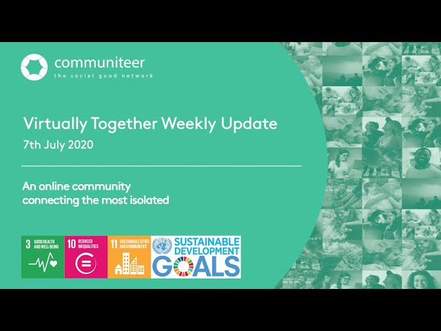 Virtually Together Weekly Update 07/07