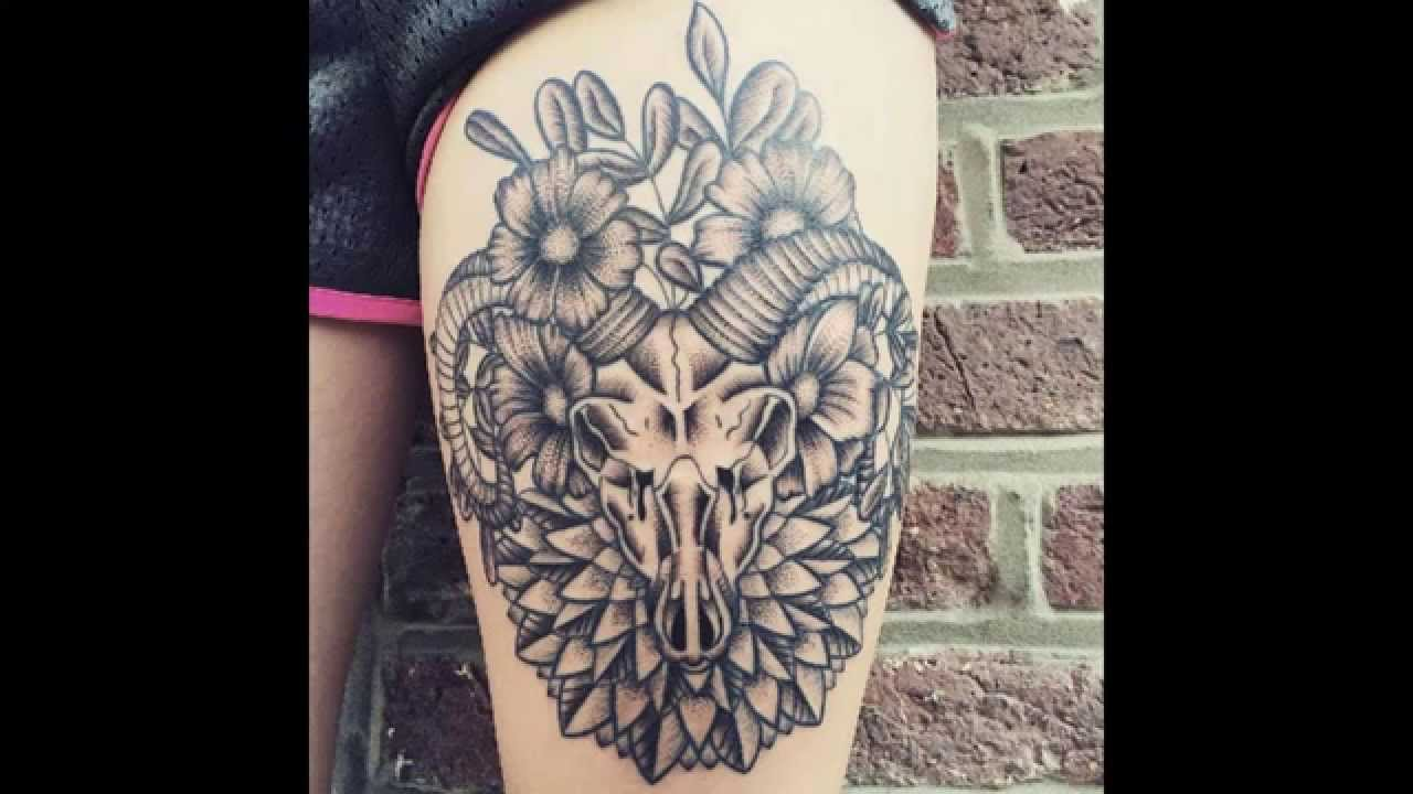b288d0213 30+ Cool Capricorn Tattoo Designs And Ideas – Main Meaning is… - YouTube