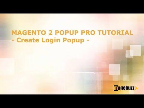 Magento 2 Popup Plus Tutorial - How to Create Login popup