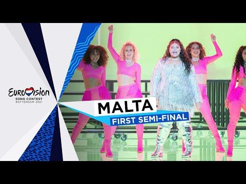 Destiny - Je Me Casse - LIVE - Malta ?? - First Semi-Final - Eurovision 2021