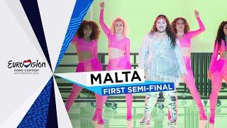 Destiny - Je Me Casse - LIVE - Malta 🇲🇹 - First Semi-Final - Eurovision 2021