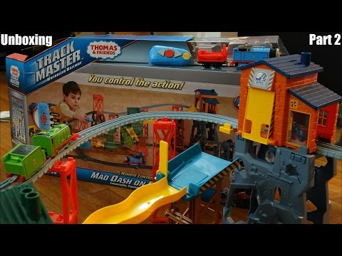 Thomas & Friends Trackmaster: Mad Dash On Sodor Set Unboxing 2 Of 3