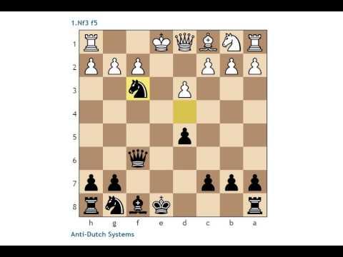 Anti-Dutch Opening Setups : 1.Nf3 f5