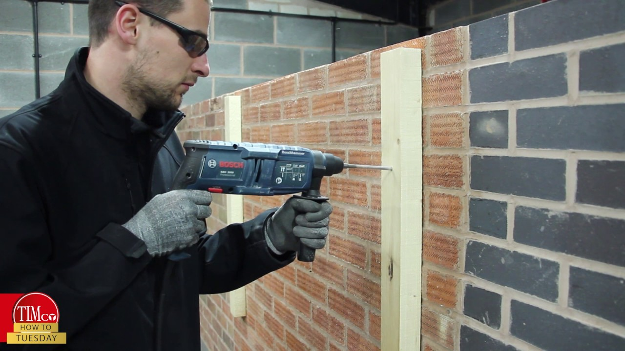 How to install door frame into brick wall boiling water tap nz