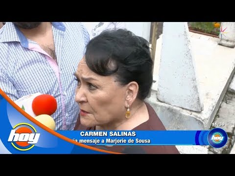 Carmen Salinas manda mensaje a Marjorie de Sousa y a Julián Gil | Hoy