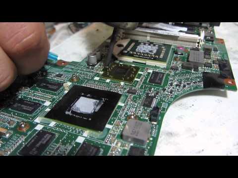 Ремонт ноутбука HP DV7 типичная неисправность платформа LX89