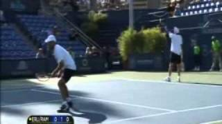 ATP 2011 Los Angeles R1 Erlich/Ram vs Dimitrov/Tursunov Part 2