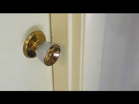 Easy way how to open a door lock without a key youtube for How to unlock mercedes benz door without key