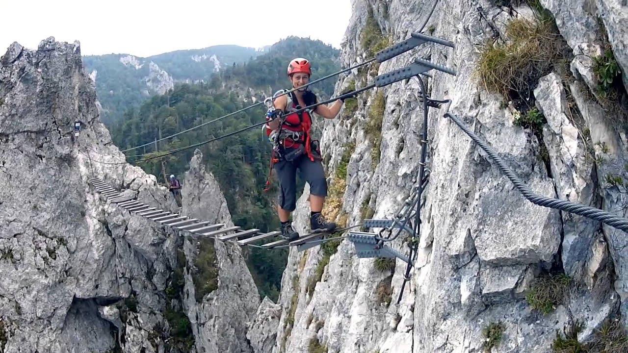Laserer Alpin Klettersteig : Via ferrata laserer alpin schmiedsteig echernwand drachenwand