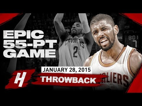 The Game Kyrie Irving Scored 55 Points with the CLUTCH SHOT & Became the LEGEND | January 28, 2015