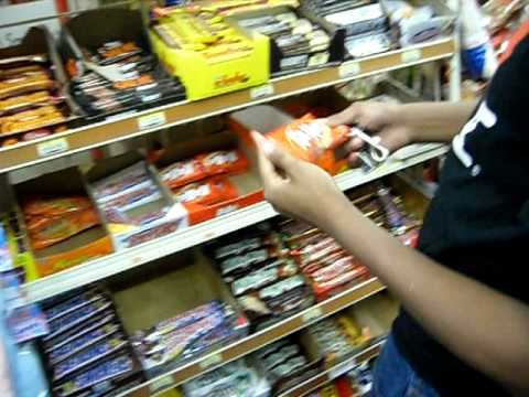Steal a candy bar - YouTube