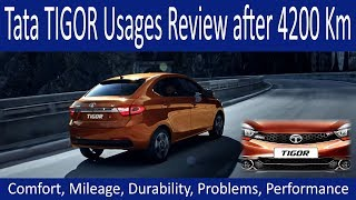 Tata Tigor 4 month Usages Review after 4200KM. To Buy or not to buy?